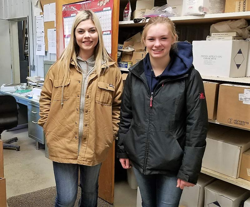 CareerLine Tech Students Give Poultry a Go at Recent Farm Visit